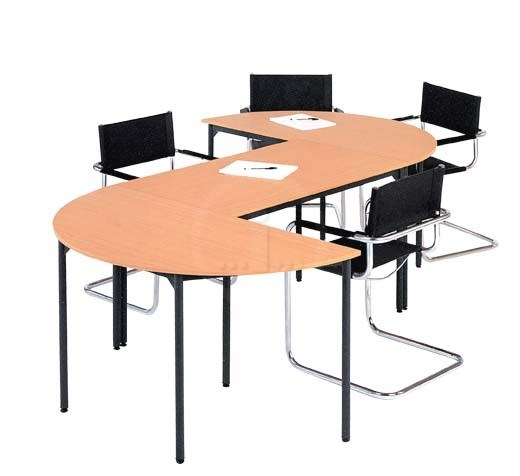 Officeconomix Catalogue Education And Training Tables Training - Semi circle conference table