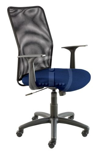 Wino Stationers Catalogue Office Furniture Seating Econet High Back Netted Chair With Arms